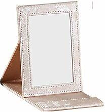 schwarzer Desktop-Spiegel/Spiegel/Prinzessin Spiegel Handspiegel/großer quadratischer Spiegel-L