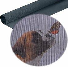 Schwarzer Insektenschutz für Allergiker als Fliegen und Pollenschutz Kompatibel zu Tesa und Hecht Fenstergitter Anthrazi