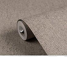 schwarzer Textur Tapete/einfach und schlicht Wallpaper/Retro-Tapete/[Bekleidungsgeschäft]KTV barWallpaper/Private Vliestapete-D