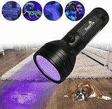 Schwarzlicht, DaskFire 51 UV Taschenlampe LED