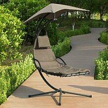Schwebeliege Mit Sonnenschirm Relaxliege