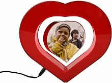 schwebender Bilderrahmen Herz als Geschenkidee