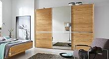Schwebetüren-Kleiderschrank Savona mit Spiegel