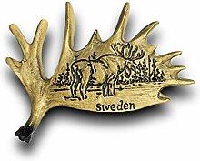 Schweden Kühlschrank Magnet 3D Travel Aufkleber