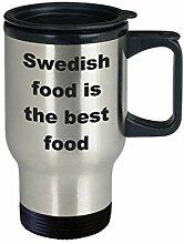 Schweden Travel Mug Swedish Food is the Best Food