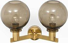 Schwedische Mid-Century V-305/2 Wandlampe von