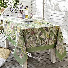 Schwedische Sommerblüten-Tischdecke
