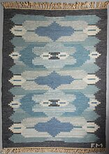 Schwedischer Rölakan Flachgewebe Teppich, 1960er
