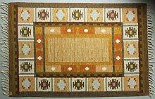 Schwedischer Rölakan Flachgewebe Teppich von