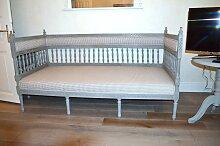 Schwedisches Graues Vintage Tagesbett