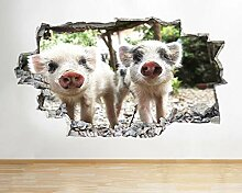 Schweine Ferkel Tiere Zoo niedlichen Kindergarten