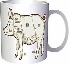 Schweinefleisch-Grill-Grill 33 cl Tasse m630