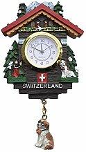 Schweiz 3D elektronische kuckucksuhr