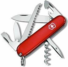 Schweizer Messer Victorinox Camper Taschenmesser 1.3613 – Rot – 13Werkzeuge