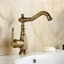Schwenkbare Küchenarmatur Antike Bronze Antike