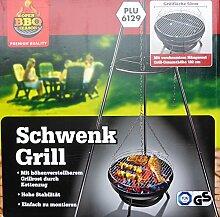 Schwenkgrill Gartengrill Grillwagen Grill