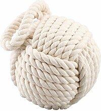 Schwere Seil Knoten Türstopper 17,8cm