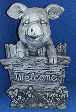 schweres Schweinchen Welcome ca. 12500 gr. sehr schön ausgearbeitet, frostfes