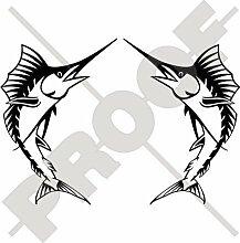 SCHWERTFISCH Marlin Fisch 187mm Auto & Motorrad