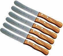 Schwertkrone Buckelsmesser Brötchenmesser