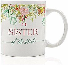 Schwester der Braut Kaffee-Haferl Geschenkidee
