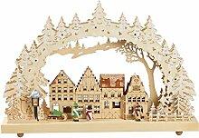 Schwibbogen, Altstadtmotiv, Lichterbogen, LED, 3D,
