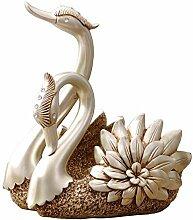 Schwiegermutter Harz Swan Weinregal schöne Schwan