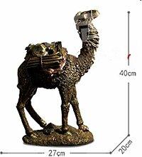 Schwiegermutter Vintage Kamel Skulptur Weinregal