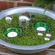Schwimm - Kugel + Schale Set dunkelgrün
