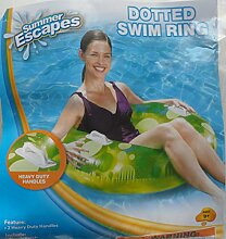 Schwimmbad aufblasbar–Dotted Swim Ring