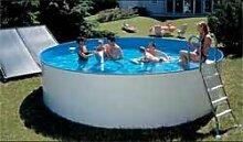 Schwimmbecken - Aufstellbeckenset rund3,20m, 120 cm Tiefe, 0,8mm Folienstärke