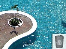 Schwimmbecken Dichtschlämme Pool Abdeckung Beschichtung Schwimmbad Dichtmittel für 2K Epoxy 27,5KG