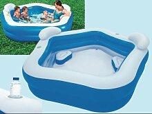 Schwimmbecken mit breiten 213x 207x