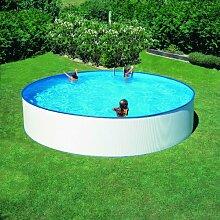 Schwimmbecken Rundpool Pool Como 5,00 x 1,50m