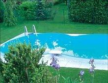 Schwimmbecken Set 8-form 6,25m x 3,60/1,50m