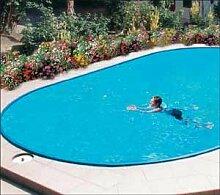 Schwimmbecken Set oval 6,00mx3,20m/1,2