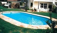 Schwimmbecken-Set Toscana 6m x 3,20m x 1,50m komple