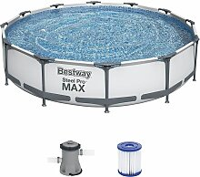Schwimmbecken Steel Pro Max™ Pool - Ø 366x76cm
