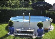 Schwimmbecken - Teileinbaubeckenset rund3,20m, 120cm tief, 0,8mm Folienstärke
