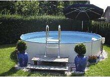 Schwimmbecken - Teileinbaubeckenset rund3,20m, 120cm tief