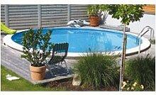 Schwimmbecken - Tiefbeckenset rund3,20m, 120cm tief