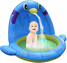 Schwimmbecken-Wasser-Spray-Spielmatte der Kinder