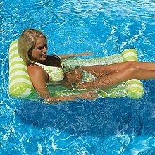Schwimmende aufblasbare Rafts Schwimmen Luft