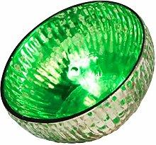 Schwimmlicht/Teelicht grün/glas 9 x 5cm