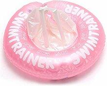 Schwimmring-Aufblasbar Sling Achsel Sicherheit Infant Dick Gummiring Schwimmbecken,Pink