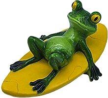 Schwimmtier, Dauerhaft Harz Gartenfigur,