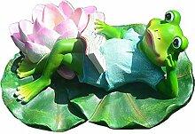Schwimmtier Frosch Aus Harz Teich Frosch
