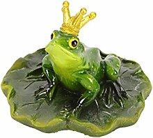 Schwimmtier Teichfigur Froschkönig PO (Frosch)
