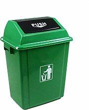 Schwingdeckel Mülleimer , Kunststoff Mülleimer