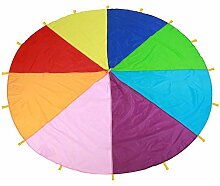 Schwungtuch Regenbogen Fallschirm Kinder Schule